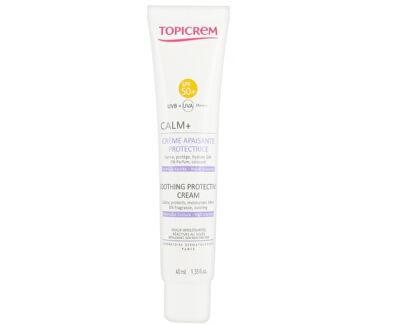 Cremă de protecție calmantă pentru pieleCALM + SPF 50+(Soothing Hawaiian Tropic Protective Crema) 40 ml