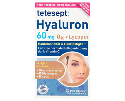 Hyaluron 60 mg + Q10 + Lycopin 30 mini tablet