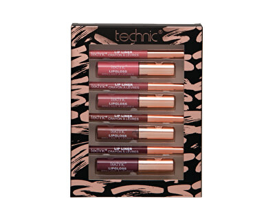 Kosmetická sada na líčení rtů Lip Colours & Liners Set