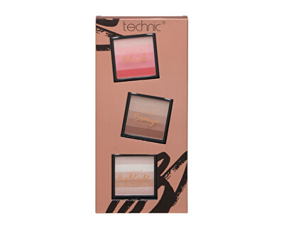 Set cosmetic Shimmer Block Stack