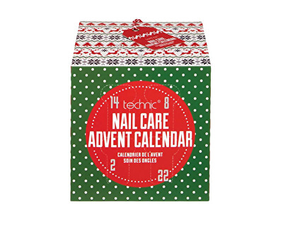 Technic Calendar de advent Christmas Novelty Nail Care Advent Calendar