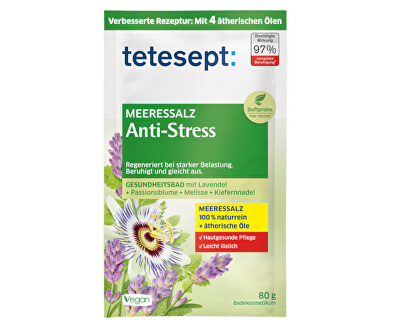 Fürdősó Antistressz 80 g