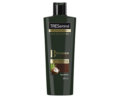 Kokosový šampón pre hydratáciu suchých a poškodených vlasov Botanique ( Nourish & Replenish Shampoo) 400 ml