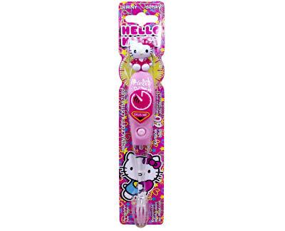 Blikající kartáček s časovačem 1 minuty Hello Kitty Firefly