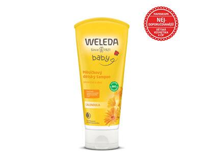 Měsíčkový dětský šampon 200 ml