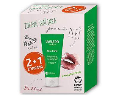 Dárková sada univerzálního výživného krému Skin Food 3 x 75 ml