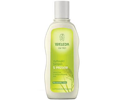 Vyživující šampon s prosem pro normální vlasy 190 ml