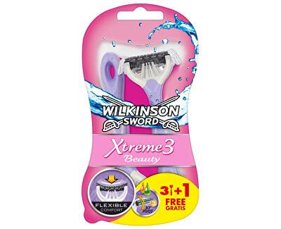Aparat de ras de unică folosință pentru femei Wilkinson Xtreme3 Beauty 4 buc
