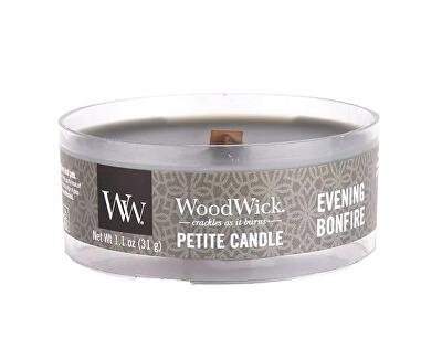 Lumânare aromatică mică cu fitil din lemn Evening Bonfire 31 g