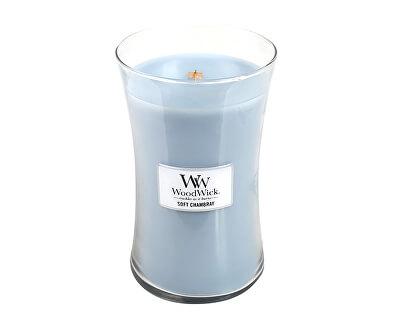 Vonná svíčka váza Soft Chambray 609,5 g - SLEVA - poškozený vosk