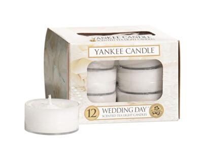 Aromatické čajové svíčky Wedding Day 12 x 9,8 g