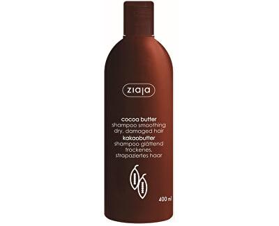 Vyhladzujúci šampón na suché a poškodené vlasy Cocoa Butter 400 ml