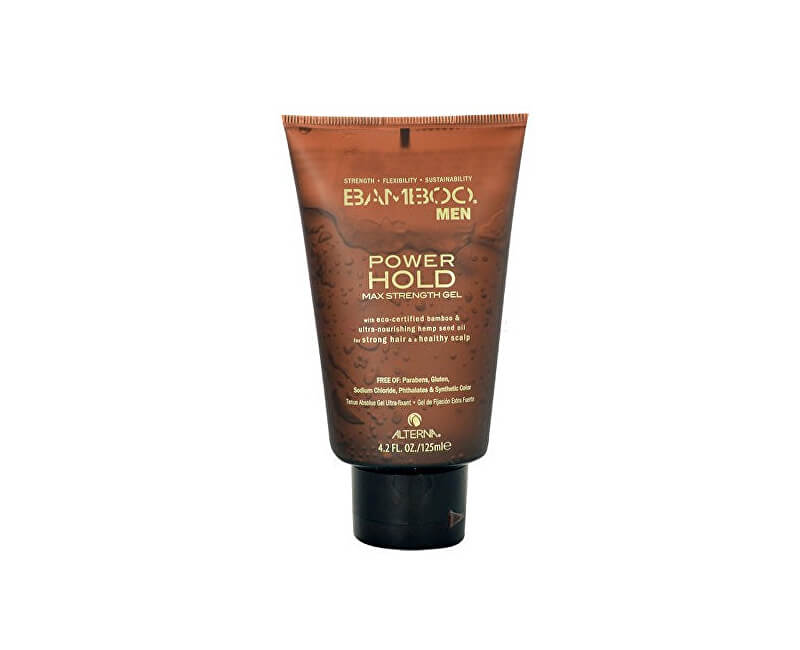 Alterna Silně tužící gel na vlasy Bamboo Men (Power Hold Max Strenght Gel) 125 ml