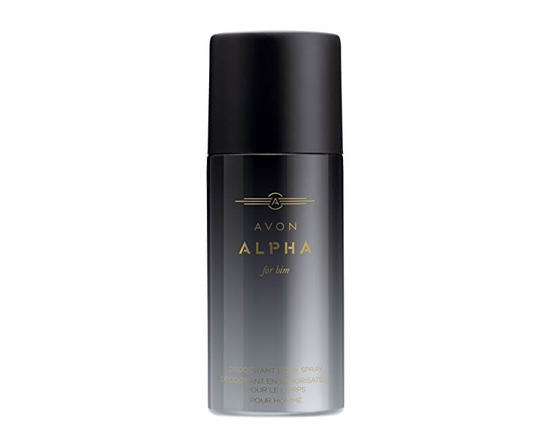 Avon Tělový sprej Alpha (Body Spray) 150 ml