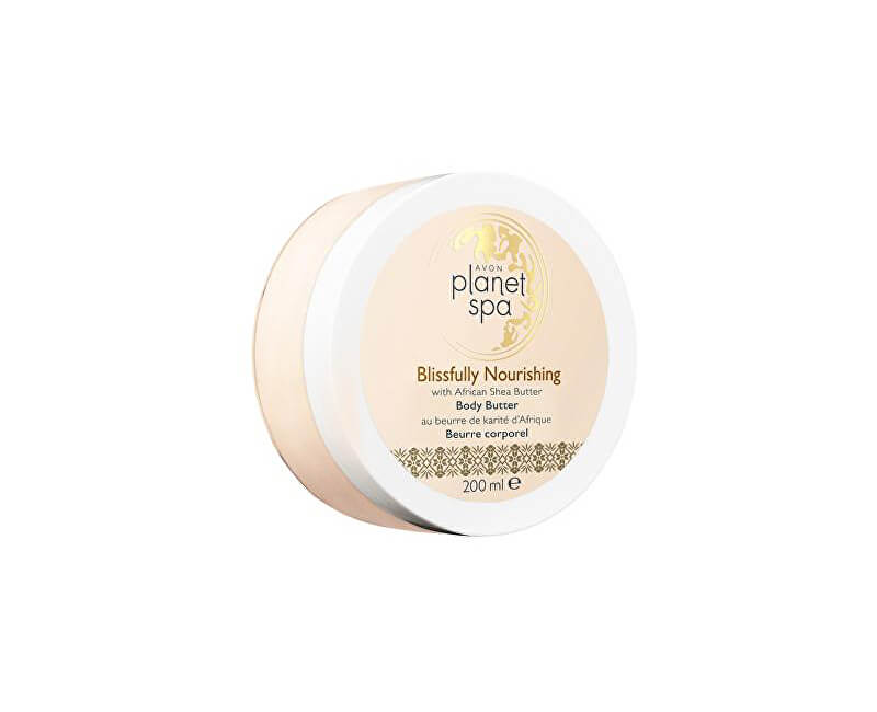 Avon Vyživující tělový krém s bambuckým máslem Planet Spa (Body Butter Blissfully Nourishing with African Shea Butter) 200 ml