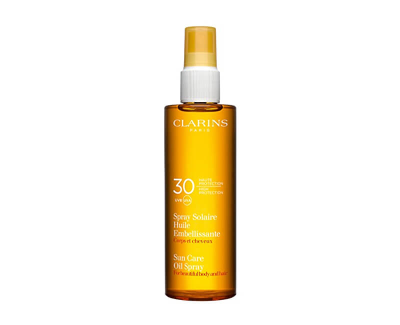 Clarins Opalovací olej ve spreji SPF 30 (Sun Care Oil Spray) 150 ml