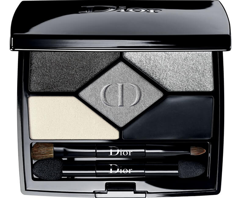 Dior Exkluzivní oční stíny 5 Couleurs Designer (All-In-One Professional Eye Palette) 5,7 g 008 Smoky