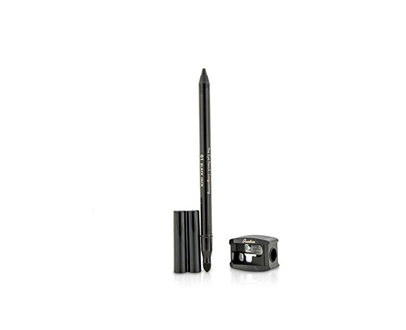 Guerlain Tužka na oči s ořezávátkem (The Eye Pencil Long Lasting) 1,2 g 01 Black Jack