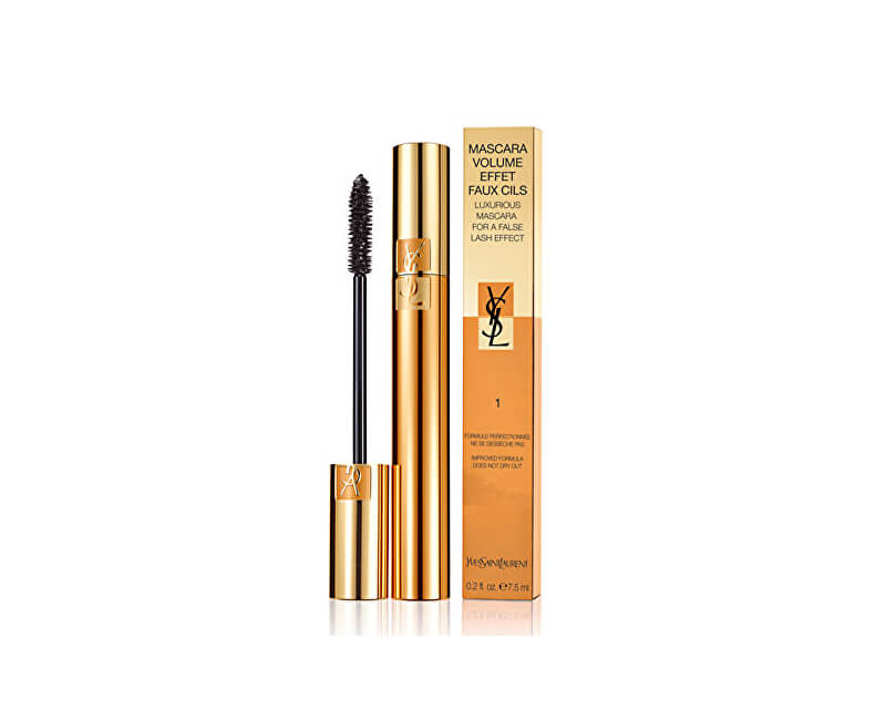 Yves Saint Laurent Řasenka s efektem umělých řas (Luxurious Mascara For a False Lash Effect) 7,5 ml 01 High Density Black
