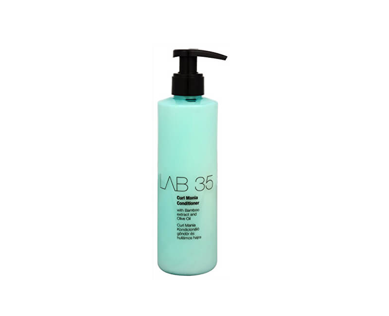 Kallos Kondicionér pro vlnité vlasy LAB 35 (Curl Conditioner With Bamboo Extract And Olive Oil) 250 ml
