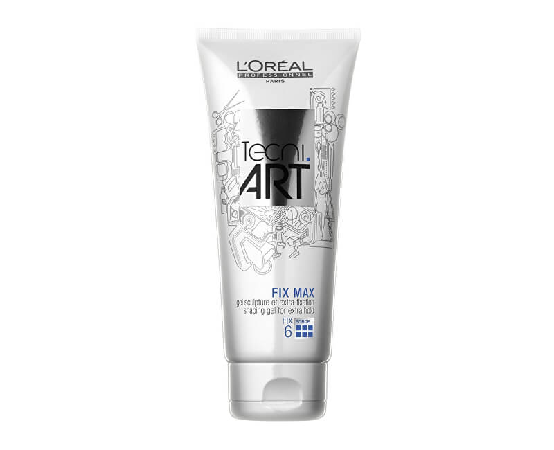 Loreal Professionnel Gel pro strukturu a maximální fixaci Fix Max (Shaping Gel For Extra Hold) 200 ml