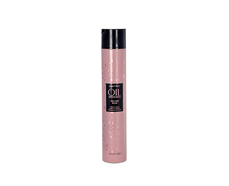 Matrix Lak na vlasy pro objem Oil Wonders (Volume Rose Finishing Spray) 400 ml - SLEVA - ulomené víčko