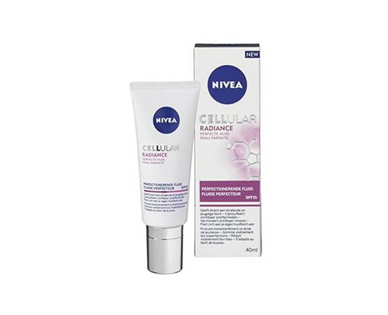 Nivea Lehký zdokonalující fluid SPF 15 Cellular Radiance (Skin Perfection Fluid) 40 ml