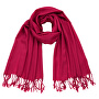 Sciarpa da donna sz18636.7 Dark red