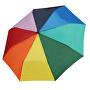 Umbrelă mecanică pliabilă pentru femei Rainbow 70830R