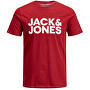 T-shirt da uomo JJECORP 12151955 Rio Red Slim