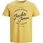 T-shirt da uomo JJHERO TEE 12175078 Spicy Mustard