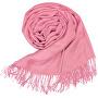 Dámská pašmína P7 pink