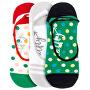 3 PACK - Low socks S19 K/Green női zokni