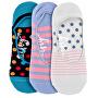 3 PACK - dámské ponožky Low socks S19 I/Blue