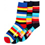 3 PACK - șosete Regular Stripe socks S19 Multipack