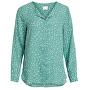 Dámska košeľa VILUCY L / S SHIRT - FAV LUX Oil Blue