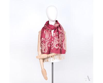 Dámský šátek sz17417.2 Burgundy Pink