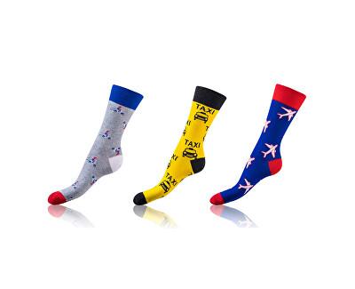 3 PACK -  ponožky BE481004-606