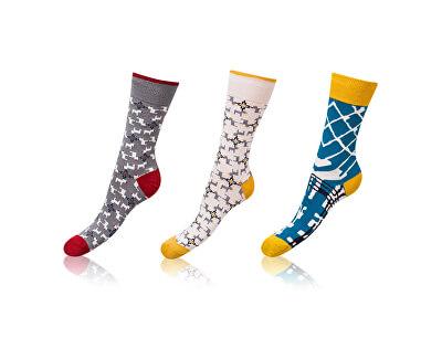 3 PACK -  ponožky BE481004-607