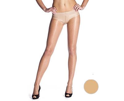 Dámské bokové punčochové kalhoty Almond BE225003-116