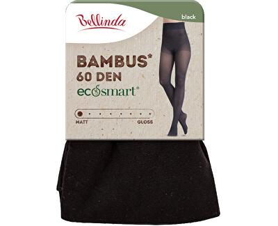 Női harisnyanadrág Bambus 60 DEN Black BE262009-094