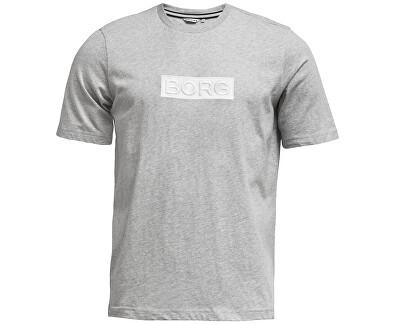 2011-1042-90741 Világos szürke Melange férfi póló