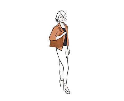 Damenhandtasche Sand
