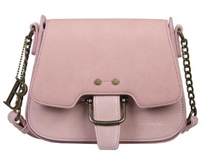 Dámska kabelka crossbody Dahlia Saddle Bag 30828 Dusty pink