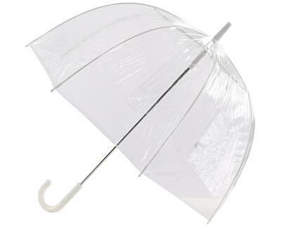 Umbrelă transparentă pentru femei de la Every day Umbrelă din vinil Clear Dome Plain
