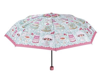 Umbrela mecanica pliabila pentru femei Fancy Cake Themed 25915B
