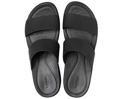 Dámské pantofle Crocs Brooklyn Mid Wedge 206219-060