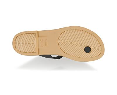 Dámské žabky Crocs Tulum Toe Post Sandal W Black/Tan 206108-00W