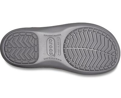 Dámske snehule Crocband Winter Boot Charcoal 205314-025