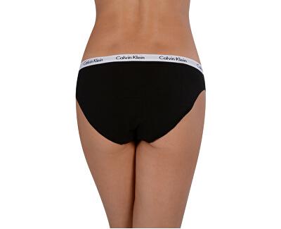 3 PACK - dámské kalhotky Bikini QD3588E-WZB